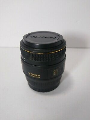 Quantaray MX AF Tech-10 50mm f/2.8 Macro Lens For Minolta