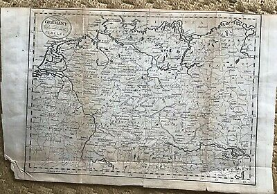 1806. Map Of Germany
