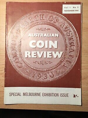 Australian Coin Review Magazine. Volume 1 Number 5. November 1964 VG Cond
