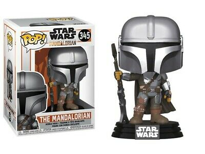 FUNKO® Star Wars™ - The Mandalorian - Mandalorian Pose Metallic Pop! Vinyl #345