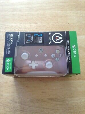 PowerA Enhanced Wired Controller For Xbox One & Window 10 PC Rose Gold