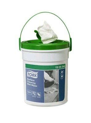 Tork 58 Wet Wipes Per Tub Professional Surface Cleaning