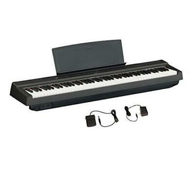 Yamaha P125 88-Key Weighted Action Digital Piano With Power Only, Black