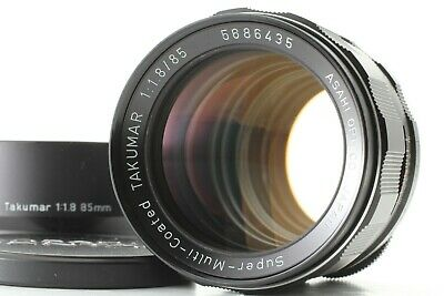 [EXC+5] Pentax SMC Super Multi Coated Takumar 85mm f/1.8 Lens M42 from Japan F05