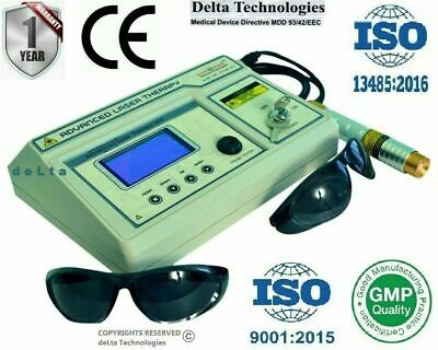 Advance (LLLT) Physiotherapy Computerised Low Level Laser Therapy Diode Machine