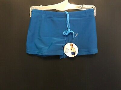 Bnwt Boys Childs Toddlers Swimming Swim Trunks Shorts Costume Pants Blue Age 8