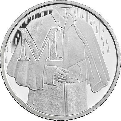 ROYAL MINT 2018 A-Z ALPHABET Letter M - MACKINTOSH 2018 UNCIRCULATED COIN