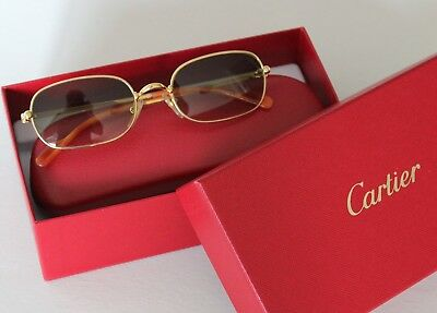 CARTIER ORFY - Thin Rim Collection Sonnenbrille 90er Ref. T8200207 TOP!!
