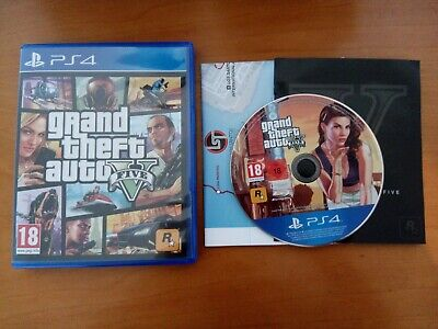 Gta 5 V grand theft auto 5 V PS 4 Playstation 4 italiano _ Invio veloce