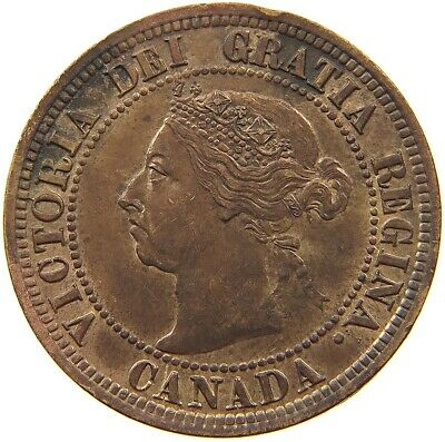 CANADA LARGE CENT 1891 #t100 089