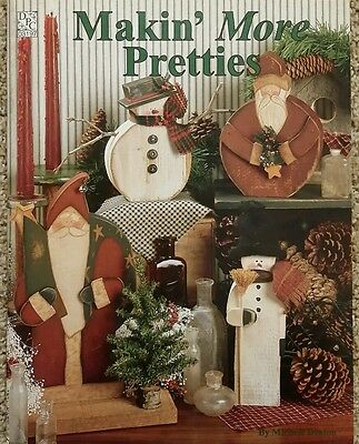Makin More Pretties By Michele Deaton Folk Art Christmas Tole Painting Book RARE