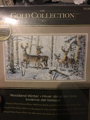 Cross Stich Chart Winter Woodland By Dimensions