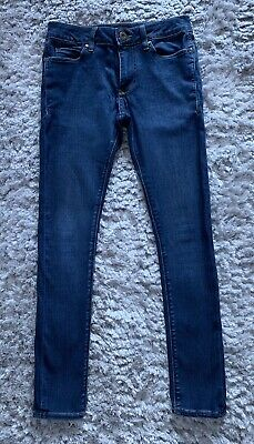 Mens/Boys Blue Skinny Jeans River Island Size 26/30