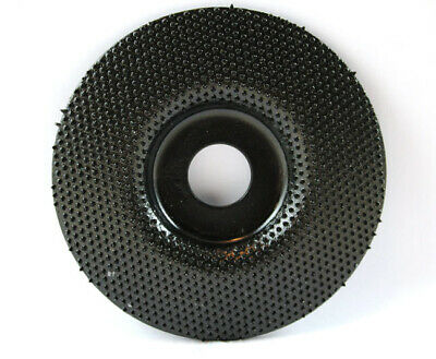"""4.6"""" Parkes Tire Grinding Disc Coarse MCM 120 Cutting Sharpening Tool # 11"""