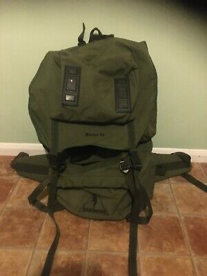 Nevis 99 Highlander Khaki Green Backpack Rucksack.