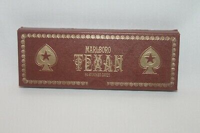 Set Of Two Decks Marlboro Texan No. 45 Poker Cards-Brand New Sealed Packages