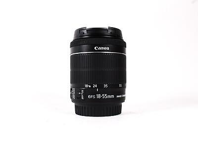 Canon EF-S 18-55mm f/4-5.6 IS STM (SKU:930194)