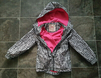 George Girl Raincoat Parka Hooded Jacket Coat 5-6 Years 110-116cm 100%Polyester