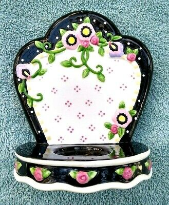 Mary Engelbreit Tea Light Candle Holder Wall Decor Flowers Michel Co.
