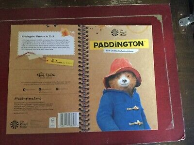 2019 - PADDINGTON BEAR 50p COIN ALBUM - NEW ISSUE