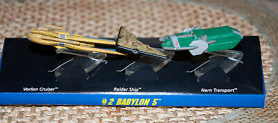 1994 Babylon 5 Micro Machines set of 3