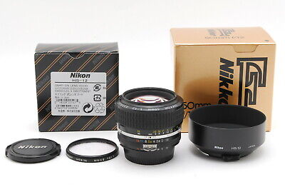 【MINT in Box】 Nikon Nikkor Ai-s Ais 50mm F1.2 Prime Lens from JAPAN