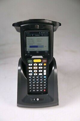 Motorola MC319ZUS Bluetooth Mobile Computer and RFID Reader W/ Cradle