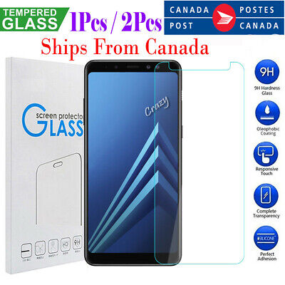 For Samsung Galaxy A8 2018 A5 2017 Tempered Glass Screen Protector Film Guard
