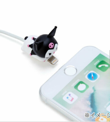 Kuromi CABLE BITE Cable Protection for iPhone Sanrio Japan