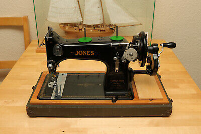 Jones D53 A Vintage Hand Crank Sewing Machine Fully Serviced and Tested