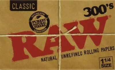 "Raw 300's Classics Rolling Papers 1.25""  **FAST SHIPPING**"