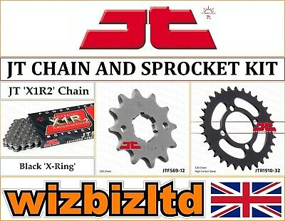 JT O-Ring Chain 11-32 Sprocket Kit for Yamaha YFA1-125 Breeze 1989-2001