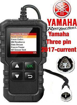 Yamaha  YS 125 2017-onwards FI OBD fault code scanner diagnostic tool