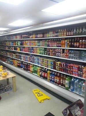 commercial long refrigerator  6m long in excellent condition