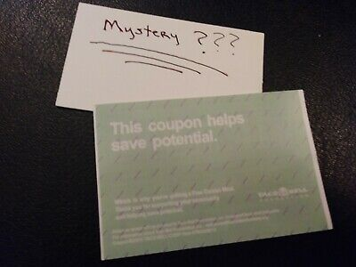 1 Taco Bell Combo Meal Voucher+1 Mystery Combo Meal Voucher (No Expiration)