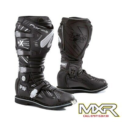 Forma Terrain Tx 2.0 Motocross Boot Black