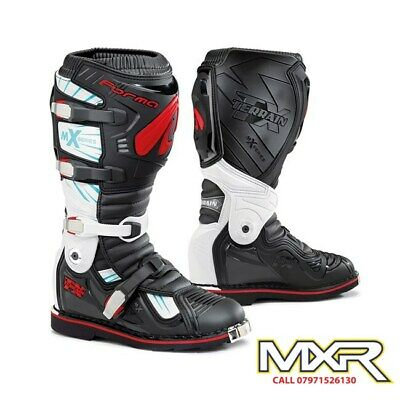Forma Terrain Tx 2.0 Motocross Boot Black / White / Red