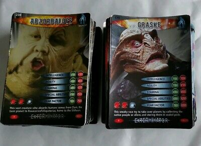 Doctor Who Battles In Time Trading Cards Job Lot