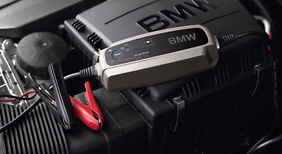 Genuine BMW Car & Motorcycle Battery Charger AGM, Lead Acid, Lithium 61432408593