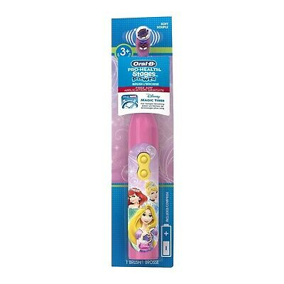 Oral B Kids Toothbrush PRINCESS Disney Electric Battery Powered Stages Power