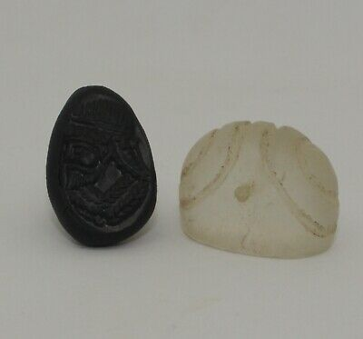 Superb Quality Ancient Carved Rock Crystal Seal - Circa 500Bc  - 032