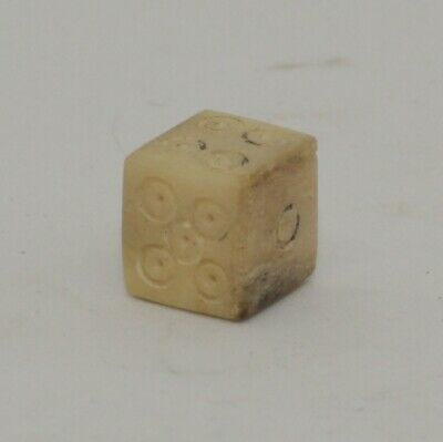 Quality Roman Carved Die, Dice - Circa 2Nd Ad