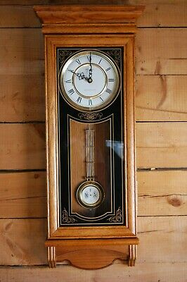 Verichron Quartz Wall Clock Model Ds 4001: Used For Parts Needs New Motor