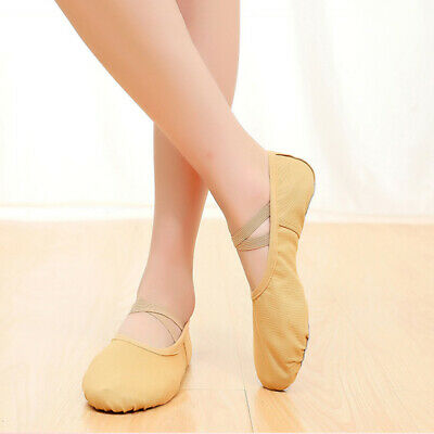1 Pair of Lace-free Yoga Shoes Pocket Dancing Shoes for Ladies Girls Kids Women