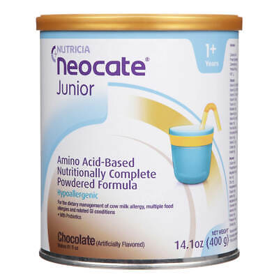 Neocate Junior Chocolate Flavor 1 case (4-14oz Cans) FREE SHIPPING!!