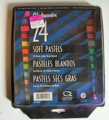 Alphacolor Soft Pastel Set of 24 (SKU102-004) preowned