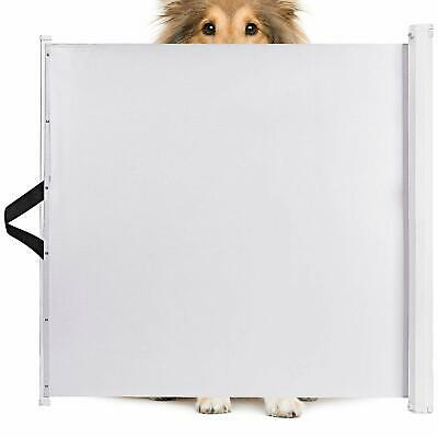 Animals Favorite Pet Retractable Safety Gate, Indoor and Outdoor Gate