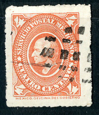 Mexico Sc.#168, 4c., used, well centered