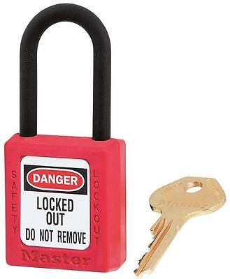 NON CONDUCTIVE LOCKOUT PADLOCK RED Security Locks