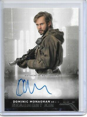 2019 Topps Star Wars Rise of Skywalker DOMINIC MONAGHAN AS BEAUMONT KIN AUTO!!